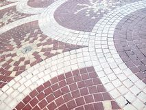 Pavement Background Royalty Free Stock Photography