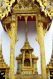 Pavement    in   bangkok  thailand incision of   temple. Kho samui bangkok in thailand incision of the buddha gold      temple Royalty Free Stock Images