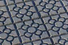Pavement, Bilbao Stock Image