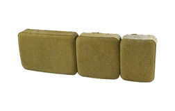 Pavement brick, isolated. Concrete block for paving Stock Photo