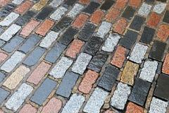 Pavement Bricks Stock Image