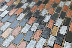 Pavement bricks Stock Image