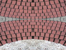 Pavement bricks surface texture Stock Photos