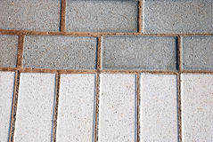 PAVEMENT Bricks texture. This is a kind of sidewalk Royalty Free Stock Photo