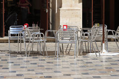Pavement cafe Stock Images