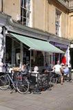 Pavement cafe, Cheltenham. Stock Photography