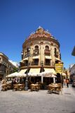 Pavement cafe, Jerez de la Frontera. Royalty Free Stock Images