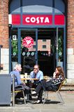 Pavement Cafe, Liverpool. Stock Image
