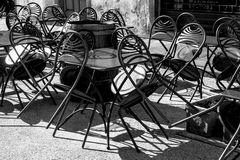 Pavement Cafe Royalty Free Stock Images