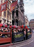 Pavement cafes, Brussels. Stock Photo