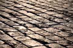 Pavement close up Stock Photos