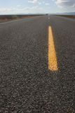 Pavement Closeup Highway Royalty Free Stock Photo