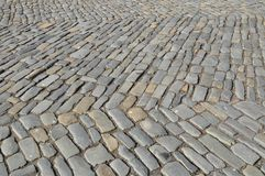 Pavement cobbles Stock Photo