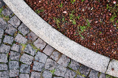 Pavement detail Stock Images