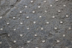 Pavement detail at Pompeii, Italy Stock Images