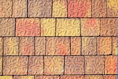 Pavement flooring outdoor texture colorful Stock Photos