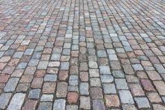 Pavement of granite Stock Photo