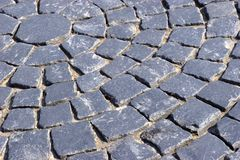 Pavement granite background Stock Images