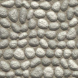 Pavement grey pebble Royalty Free Stock Photos