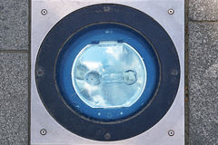 Pavement light Royalty Free Stock Image