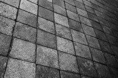 Grey tiles with feeling of dizziness stock photos
