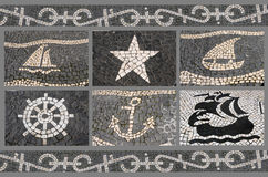 Pavement mosaic Royalty Free Stock Images