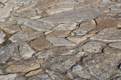 Pavement in natural stones Stock Photo