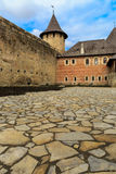 Pavement in old castle Royalty Free Stock Photo