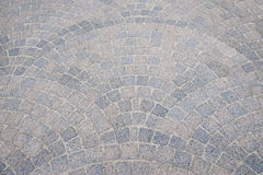 Pavement pattern with bow Stock Photography
