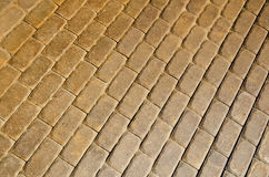 Pavement pattern Royalty Free Stock Photos