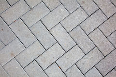Pavement pattern made with cast Royalty Free Stock Image