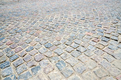 Pavement of paving stones Royalty Free Stock Photo