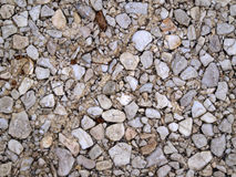 Pavement of pebbles Royalty Free Stock Photography