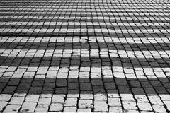 Pavement of The Red Square. Royalty Free Stock Image