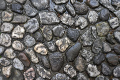 Cobbled pavement stock photos