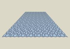 PAVEMENT SAMPLE. Sample color polymorphic background image Stock Photography