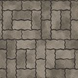 Pavement seamless generated texture Royalty Free Stock Photography