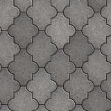 Pavement. Seamless Tileable Texture. Gray Figured Pavement. Seamless Tileable Texture Royalty Free Stock Image