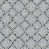 Pavement. Seamless Tileable Texture. Light Gray Figured Pavement. Seamless Tileable Texture Stock Images