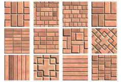 Pavement set (Seamless texture) Royalty Free Stock Image