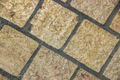 Pavement of sidewalk Stock Photos