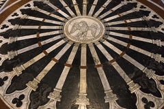 The pavement of Siena cathedral, Siena, Italy Stock Photo