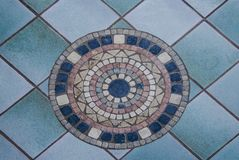 Pavement in Sorrento, Italy Royalty Free Stock Photography