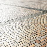 Pavement on the square Stock Images