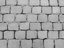 Pavement of stone in the ancient style, Texture,  Background Stock Photo