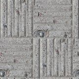 Pavement stone gray road seamless background Stock Photography