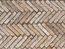 Pavement of stone pavers as a background Royalty Free Stock Photo