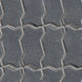 Pavement stone road seamless background texture Stock Photo