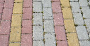 Pavement stones Royalty Free Stock Photos