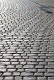 Pavement of stones in the sunlight Royalty Free Stock Photography